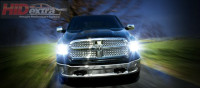 Dodge Ram with HIDs